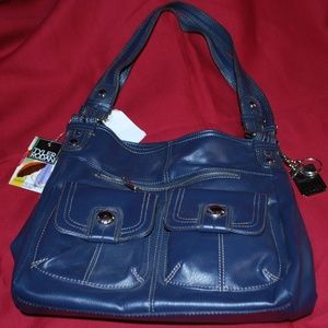 NWT Blue Tyler Rodan Purse/Tote w/Umbrella
